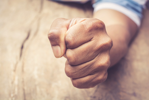 Anger may feel like the wrong emotion during grief, but it's part of the process for most. Exercise, routine and emotional support can help. (Getty Images
