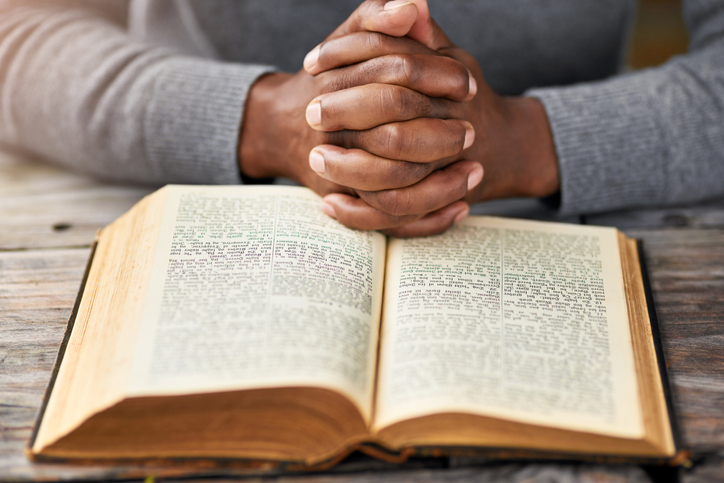 Bible verses are a comfort to those of the Christian faith, especially when a loved one has passed away. (Getty Images)