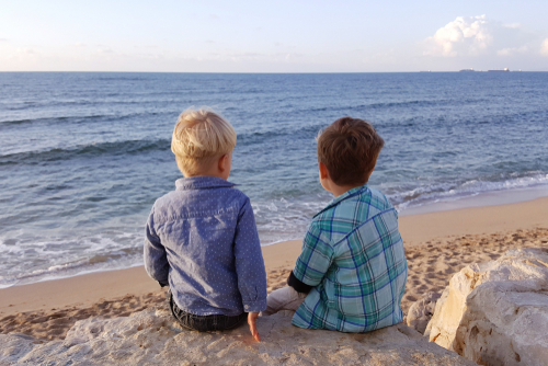Talk to your child about the loss they have suffered. Seek out the assistance of a qualified grief counselor if you aren't sure how to proceed. (Shutterstock)