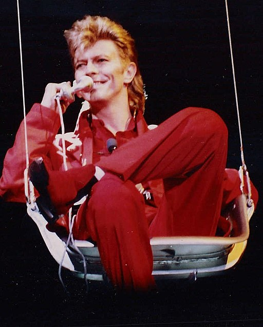 David Bowie bei Rock am Ring 1987/ at the Rock am Ring and Rock im Park music festival