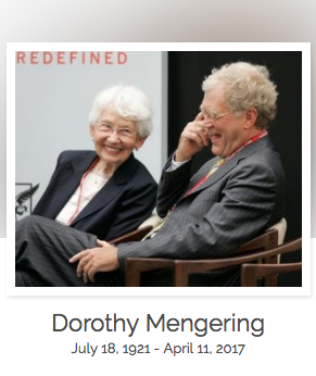 Click here to read Dorothy Mengering's full obituary story on Beyond the Dash.