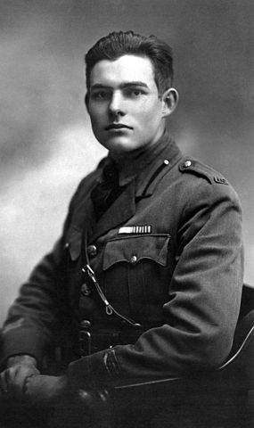 Ernest Hemingway in Milan, 1918. (John F. Kennedy Presidential Library, The Ernest Hemingway Collection)