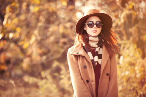 Choose layers that are comfortable and modest for a fall funeral. (Shutterstock)