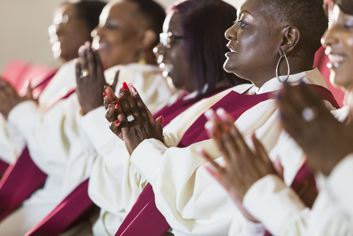 Gospel music is participatory. Involving mourners in the funeral music can make for a memorable service. (Getty Images)