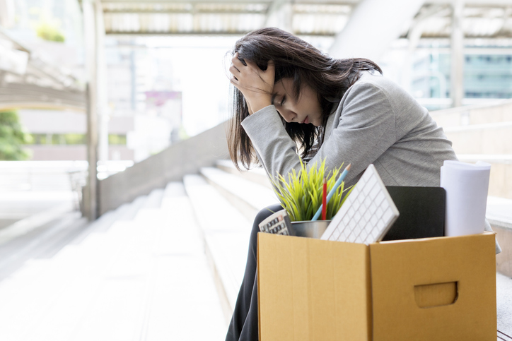 Losing a job is a common reason many people experience grief. Loss of work relationships, financial uncertainty and damage to the ego can trigger a grief reaction. (Getty Images)