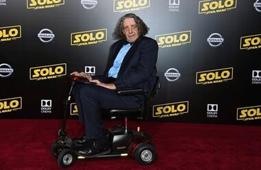 Read Peter Mayhew's full obituary story on Beyond the Dash.