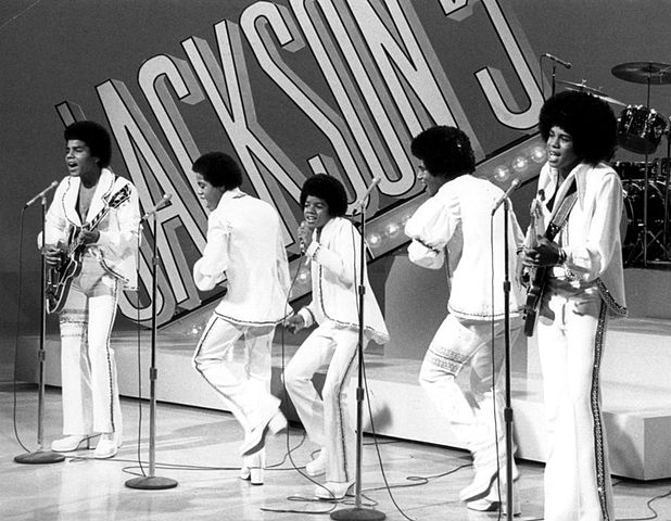 Publicity photo of the Jackson 5 from their 1972 television special. (CBS Television/Wikimedia Commons)