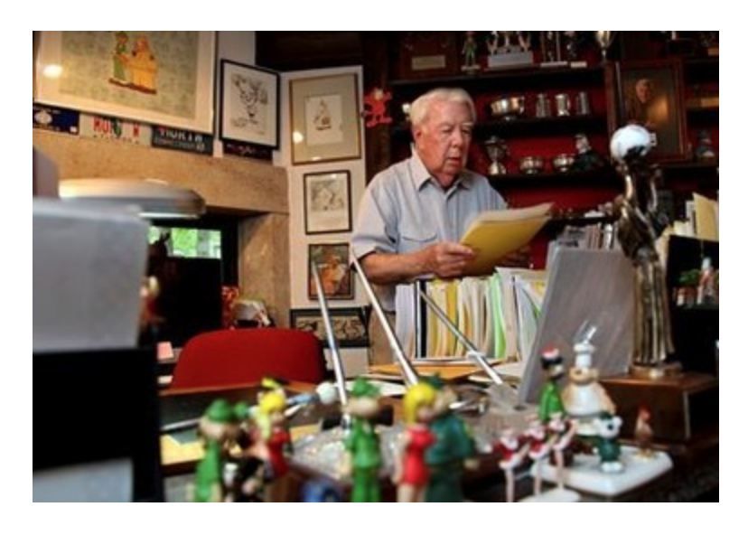 Click here to read Mort Walker's full obituary story on Beyond the Dash.