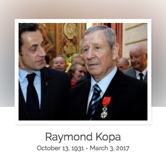 Click here to read Raymond Kopa's full obituary story on Beyond the Dash.