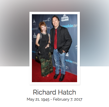 Click here to read Richard Hatch's full obituary story on Beyond the Dash.