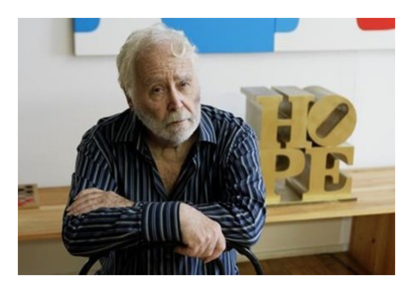 Click here to read Robert Indiana's full obituary story on Beyond the Dash.