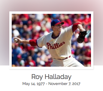 Click here to read Roy Halladay's full obituary story on Beyond the Dash.
