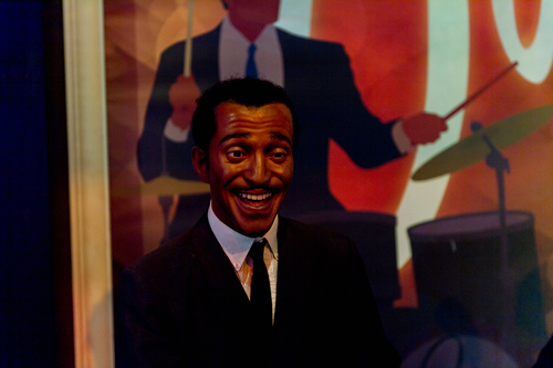 LAS VEGAS, USA - SEP 19, 2017: Sammy Davis Jr., Madame Tussauds wax museum in Las Vegas Nevada. (Shutterstock)