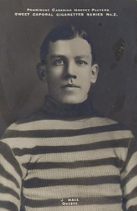Postcard of Joe Hall, between 1910 and 1911. (Sweet Caporal/Wikimedia Commons)