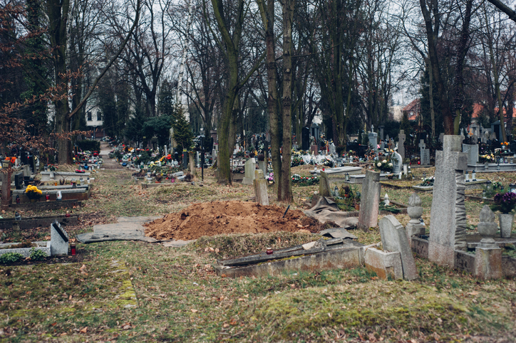 Unclaimed remains may be stored at a funeral home, or in the coroner's office during a grace period, before being buried or scattered. (Getty Images)