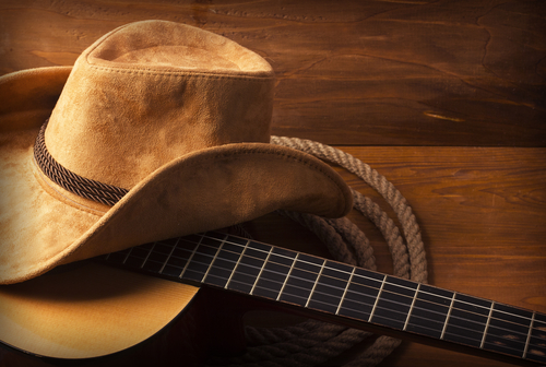 Country and western music is a traditional, folk-inspired style of music that lends itself well to themes of bereavement. (Shutterstock)