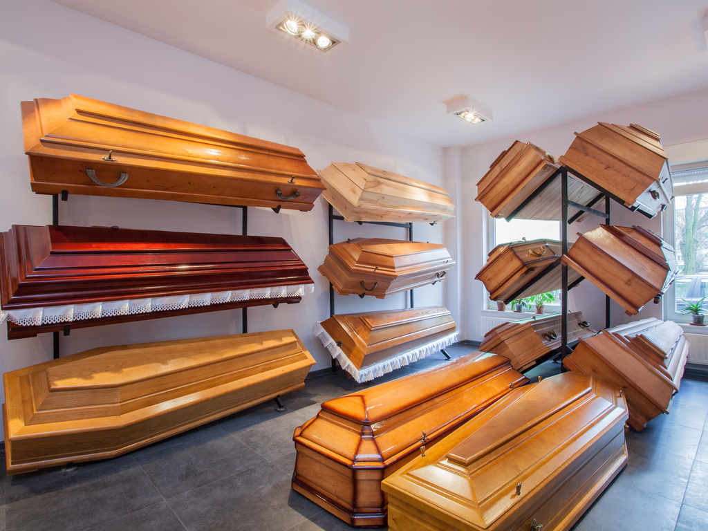Picking out your own casket is an odd task. However, pre-planning gives you control over the funeral arrangements, and the way you are remembered. (Shutterstock)