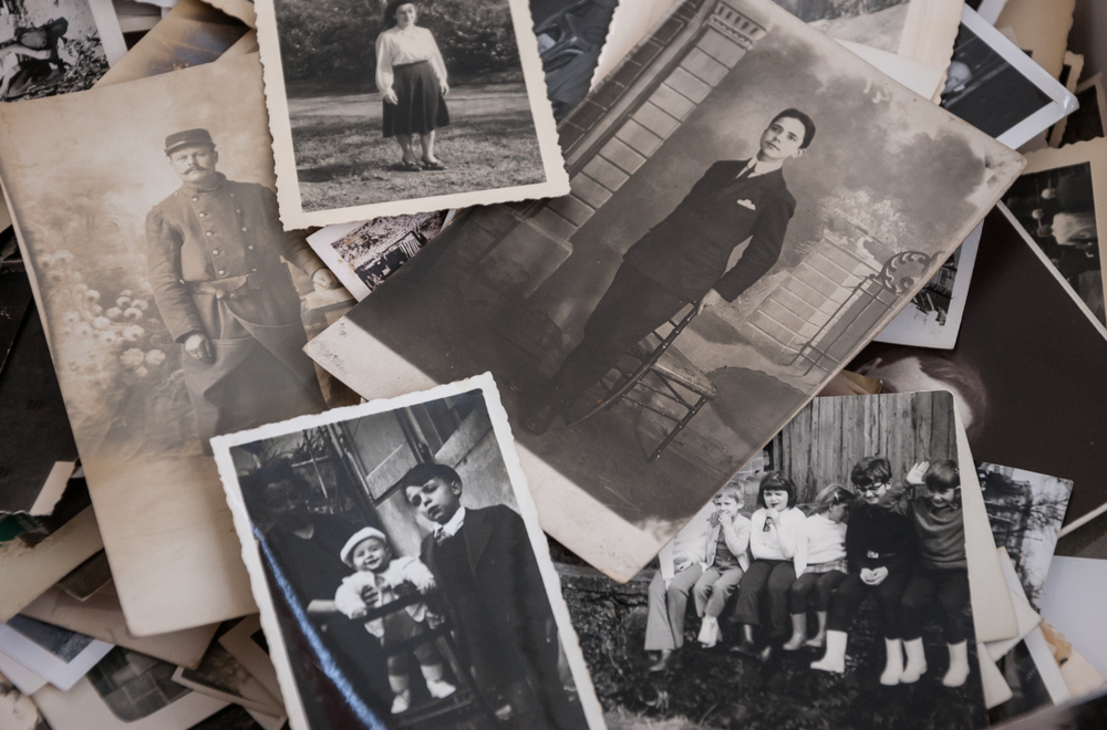 Create digital versions of old photos to ensure special memories are preserved. (Shutterstock)